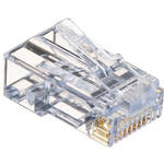 Platinum Tools EZ-RJ45 CAT6 Connectors (Clamshell Packaging, 50-Pieces)