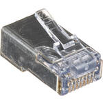 Platinum Tools Shielded EZ-RJ45 Connectors for CAT5e & CAT6 with Internal Ground (Clamshell Packaging, 10-Pieces)