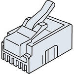 Platinum Tools 106130 RJ12-6P6C Modular Plug (500 Pack, Bag)