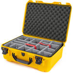Nanuk 940 Case with Padded Dividers (Yellow)