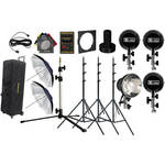Novatron D1500 4 Head Studio Kit