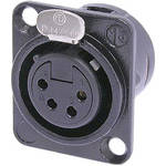 Neutrik NC4FD-L-B-1 Female Receptacle Connector (4-Pole)