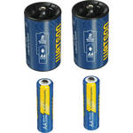 Watson D Spacer Pack with 2 AA NiMH Batteries (1.2V, 2300mAh)