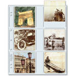 "Print File 33-12P Archival Storage Page for 12 Prints (3.5 x 3.5"", 500-Pack)"