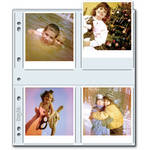 "Print File 44-8P Archival Storage Page for 8 Prints (4 x 4.5"", 500-Pack)"