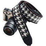 SizzleStrapz Fashion Camera Strap (Houndstooth)