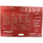 Ambient Recording Label for ACL-203 Lockit Timecode and Sync Generator (Red)