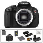 Canon EOS Rebel T4i Digital Camera (Body Only) with Deluxe Accessory Kit
