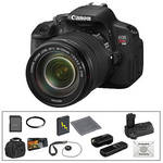 Canon Canon EOS Rebel T4i Digital Camera & 18-135mm IS STM Lens Deluxe Accessory Kit