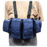 Newswear Mens Medium Chestvest (Navy Blue)