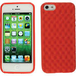 Xuma Textured Flex Case for iPhone 5, 5s & SE (Red)