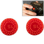 Custom SLR ProDot Shutter Button Upgrade (Red, 2-Pack)