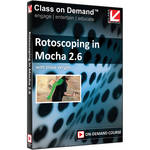 Class on Demand Video Download: Rotoscoping in Mocha 2.6