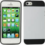 Xuma Hybrid Case for iPhone 5, 5s & SE (White)
