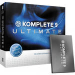 Native Instruments Komplete 9 Ultimate - Virtual Instruments and Effects Collection (Crossgrade)