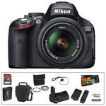 Nikon D5100 DSLR Deluxe Kit with 18-55mm VR Lens
