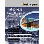"Inkpress Media Luster Duo Light Double-Sided Photo Inkjet Paper (17"" x 50' Roll)"