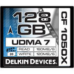 Delkin Devices 128GB CF 1050X UDMA 7 Cinema Memory Card