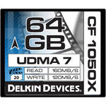 Delkin Devices 64GB CF 1050X UDMA 7 Cinema Memory Card