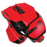 Mad Catz M.O.U.S. 9 Gaming Mouse (Red)