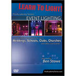ALFRED DVD: Learn to Light! Pro Academy Series: Event Lighting