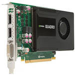 HP 2GB NVIDIA Quadro K2000 DL-DVI+2xDP Graphics Card