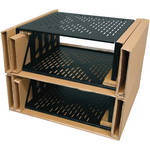 "Middle Atlantic U4V-4 Pack of 4 7"" Vented Universal Rack Shelf"