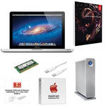 "B&H Photo Apple MacBook Pro Turnkey System with an Apple 15.4"" MacBook Pro and Adobe Premiere Pro CS6"