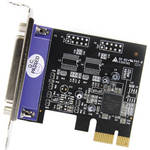 StarTech 1-Port PCI Express Low-Profile Parallel Adapter Card