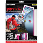Xtreme Cables Survival Durable Protection Case for iPad 2nd, 3rd Gen (Pink)
