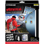 Xtreme Cables Survival Durable Protection Case for iPad 2nd, 3rd Gen (White)