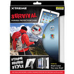 Xtreme Cables Survival Durable Protection Case for iPad 2nd, 3rd Gen (Gray)