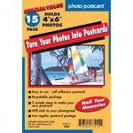 "FREEZE-A-FRAME Do-it-Yourself Photo Postcards (4 x 6"", 15-Pack)"