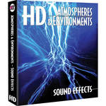 Sound Ideas Atmospheres & Environments HD Sound Effects Hard Drive for Windows