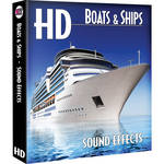 Sound Ideas Boats & Ships HD Sound Effects on Hard Drive for Windows