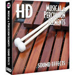 Sound Ideas Musical & Percussion Elements HD Sound Effects Hard Drive for Mac
