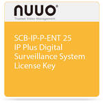 NUUO SCB-IP-P-ENT 25 IP Plus Digital Surveillance System License Key