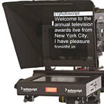 "Autoscript 12"" High-Bright LED Teleprompter with Molded Hood"