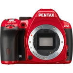 Pentax K-50 DSLR Camera (Body Only, Red)