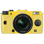 Pentax Q7 Compact Mirrorless Camera with 5-15mm f/2.8-4.5 Zoom Lens (Yellow/Yellow)