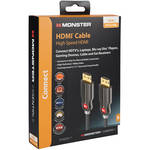 Monster Cable Digital Life High-Performance SuperThin 8' HDMI Cable (Black)