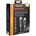 Monster Cable ADV HI-SPD ETHERNET CABLE - BLACK - 7'