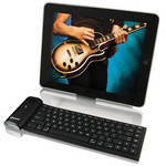 HamiltonBuhl Bluetooth Keyboard with Stand for iPad