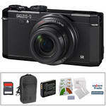 Pentax MX-1 Digital Camera Deluxe Kit (Black)