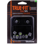 Westone True-Fit Foam Eartips (10-Pack, Green)