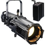ETC Source Four Ellipsoidal Lighting Fixture with Dimmer (25-50 Zoom, Stage Pin Connector, Black)