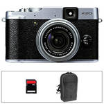 Fujifilm X20 Digital Camera Basic Kit (Silver)