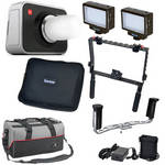Blackmagic Design Cinema Camera MFT Mount Kit with Handgrips & LED Lights