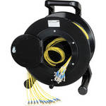Camplex Duplex ST Single-Mode Fiber Optic Tactical Snake Reel (500')