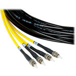 Camplex Four-Channel ST Single-Mode Fiber Tactical Snake Cable (750')